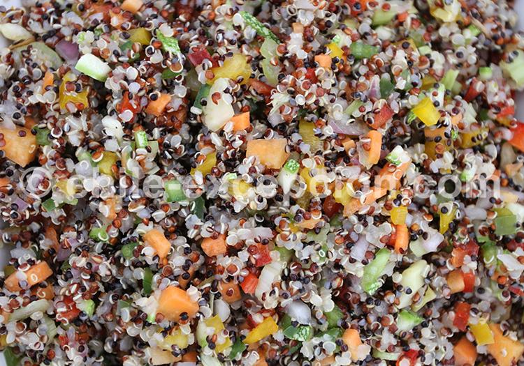 Ceviche de quinoa, Nord du Chili