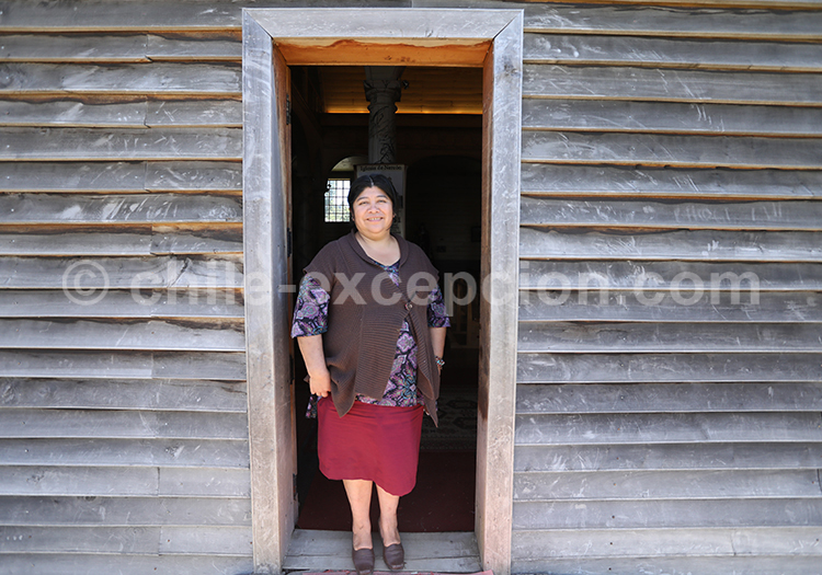Portrait native de Patagonie