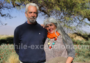 Lune de miel dans le désert d'Atacama
