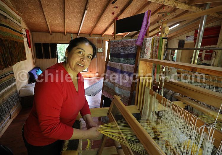 L'art du tissage en patagonie