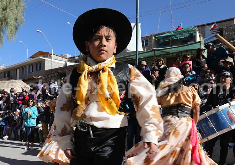 Festivalier, fêtes d'Iquique