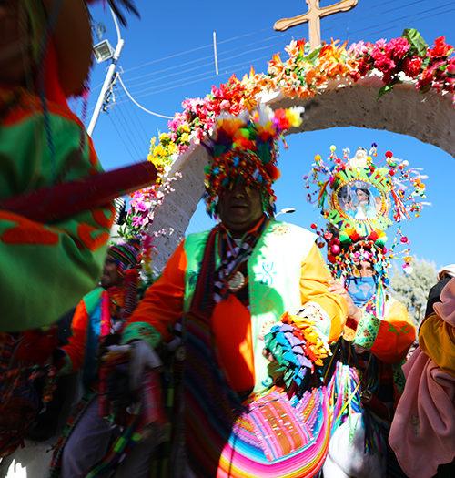 Procession de la Vierge d'Ayquina