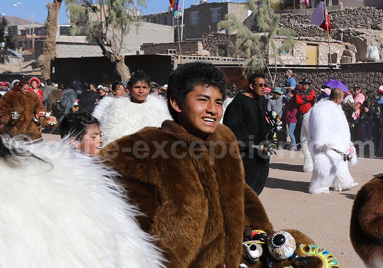 Carnaval, ethnies de l'Altiplano