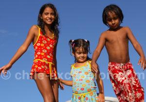Pause photos à l'île de Pâques