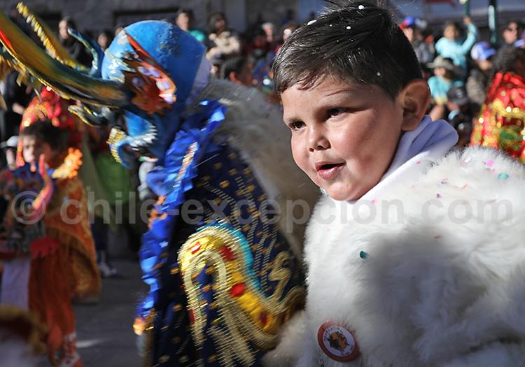 Enfant, fêtes de l'Altiplano
