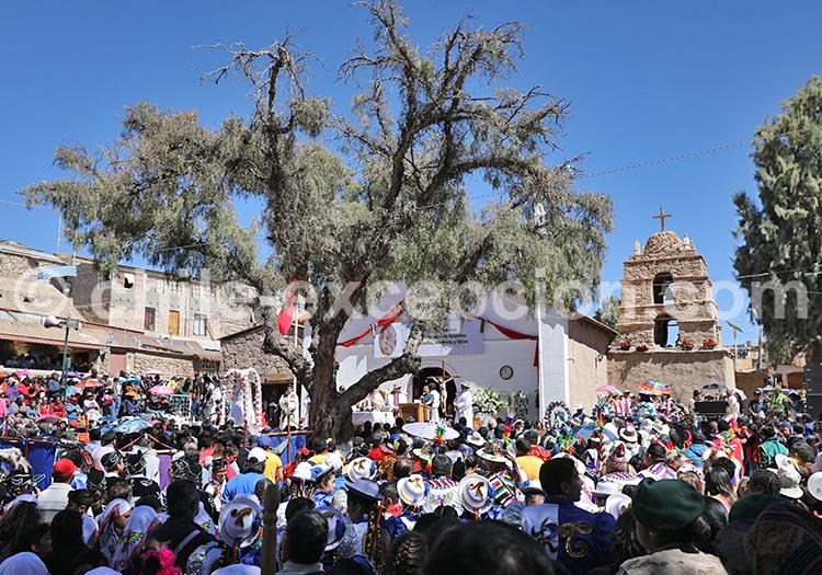 Marche religieuse de la vierge d'Ayquina, Chili