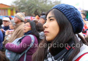 Pèlerine à fête de La Tirana