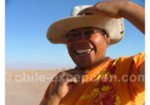 Guide francophone dans le désert d'Atacama