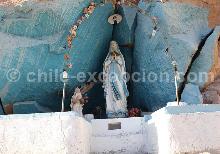 Statuette religieuse, croyances du Chili