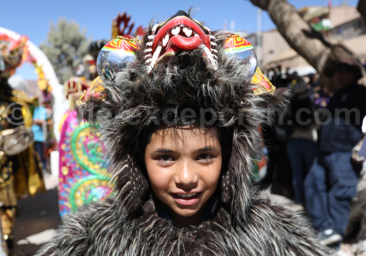 Rencontre culturelle, enfants du Chili