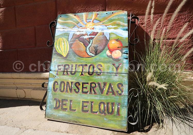 Local de fruits, Nord du Chili