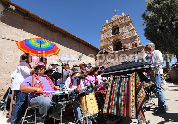 Musique religieuse, Ayquina, Chili