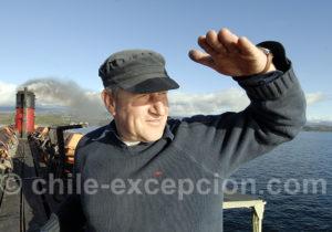 Marin d'eau douce, lac Villarica