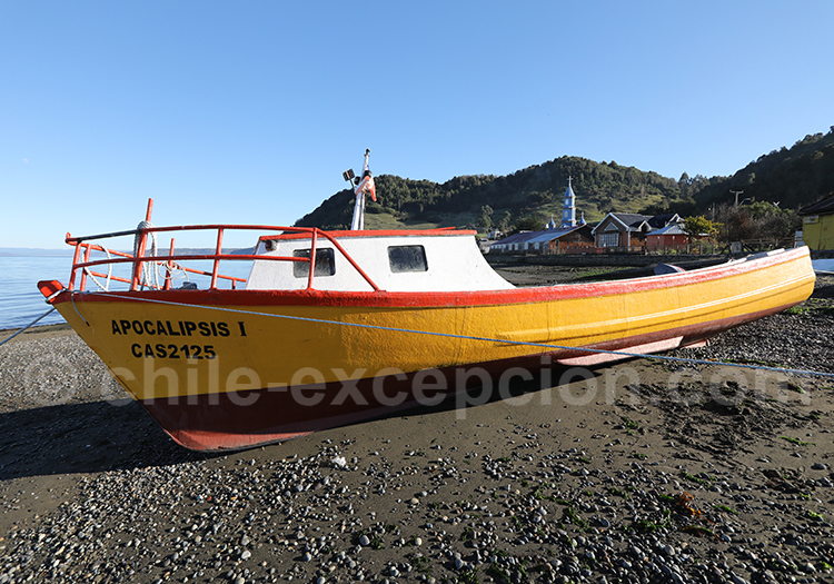Port de pêche, littoral Nord du Chili