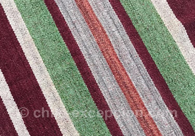 Couleurs du nord Chili, tapis coloré