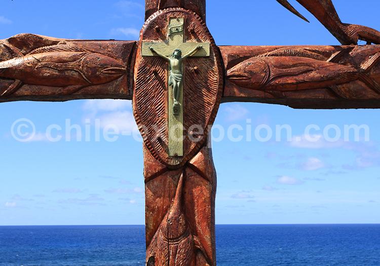 La religion catholique, littoral Nord du Chili