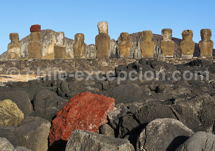 Site grandiose, Île de Pâques