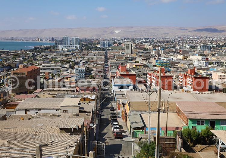Arica, Nord du Chili