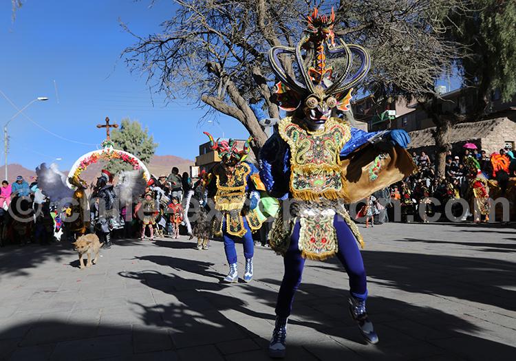 Tenues traditionnelles, culture des Andes