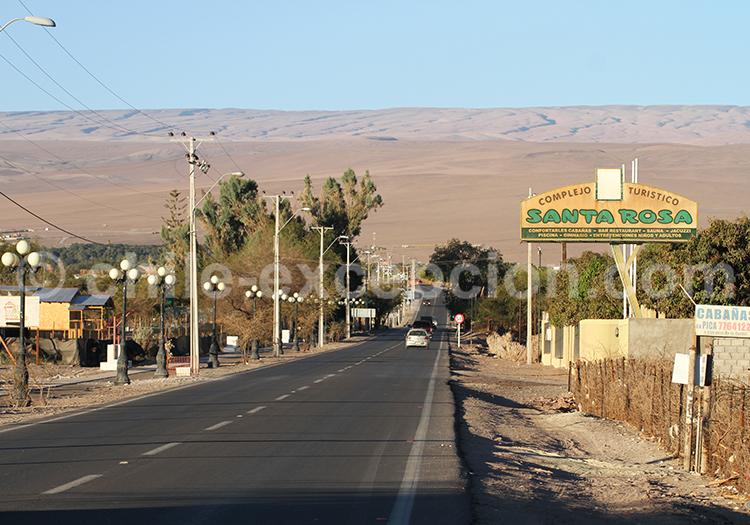 Les villages de Pica et Matilla, Nord du Chili