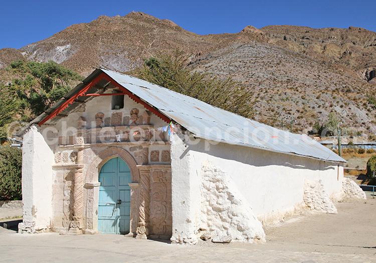 Église de San Santiago de Belén, région d'Arica et de Parinacota