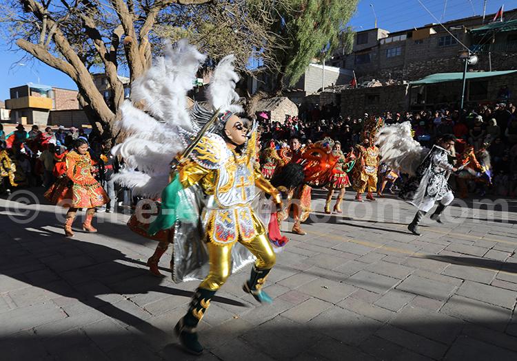 Costume religieux, Fiesta de la Virgen de Guadalupe, Ayquina