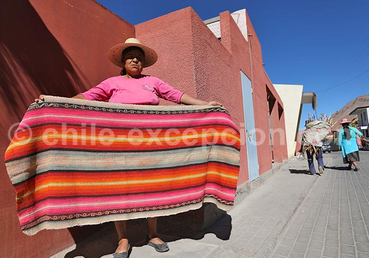 Suma marka, Camiña, Chili