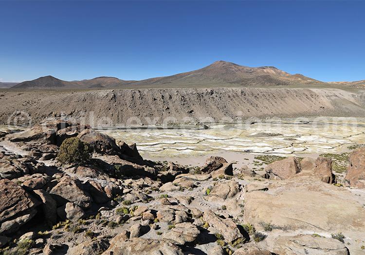 Tourisme des bofedales de Caquena, Chili