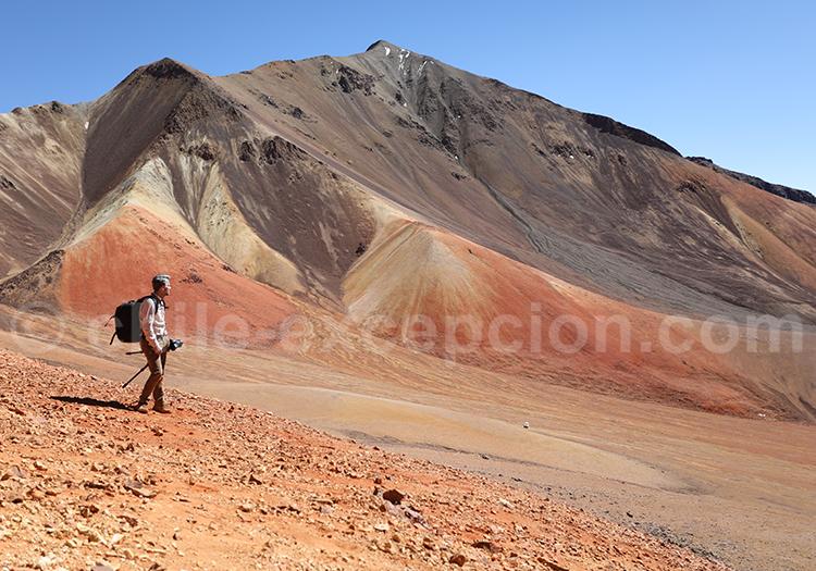 Photographe de voyage, désert du Chili