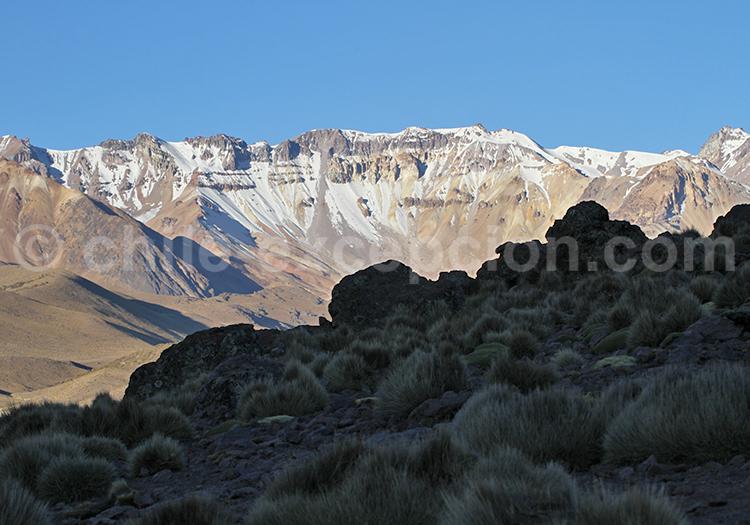 Tourisme dans les Andes, Chili