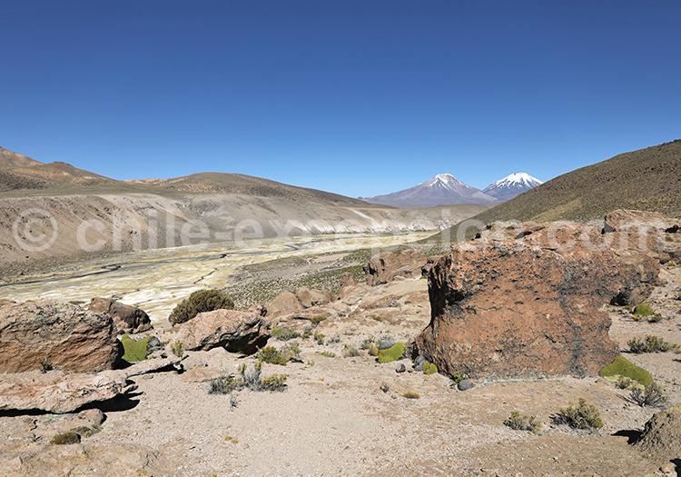 Visite des sentiers des Andes