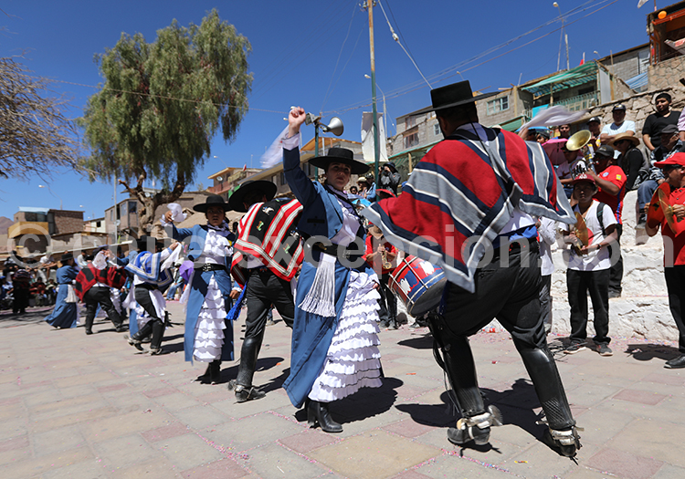 Fête Vierge de Guadeloupe de Ayquina, Chili