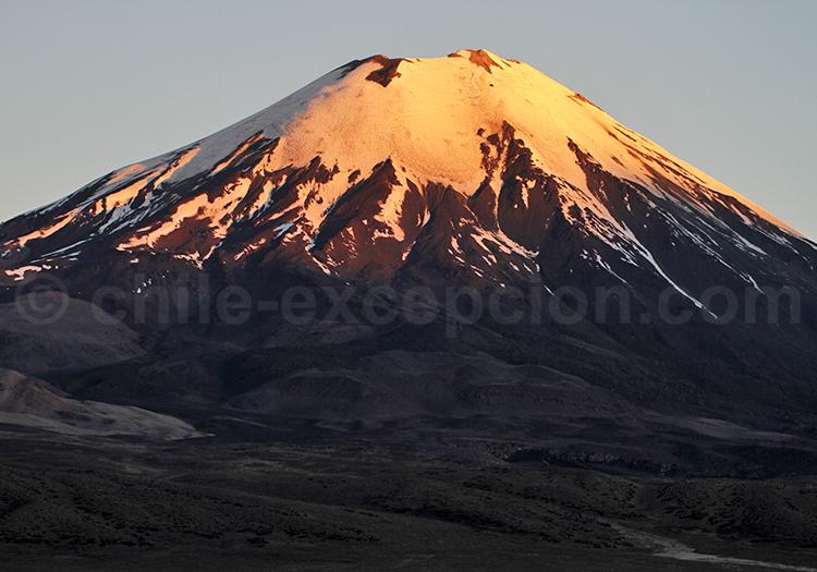 Coucher de soleil, Nord du Chili