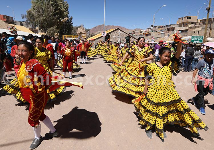 Agenda culturel en juillet, fête à Ayquina, Chili
