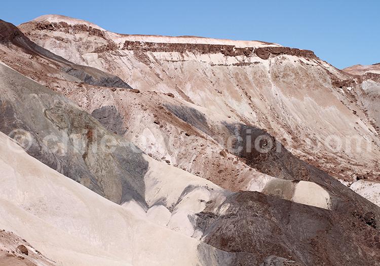 Sédiments de l'Altiplano