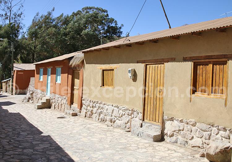 Maison du désert du Chili