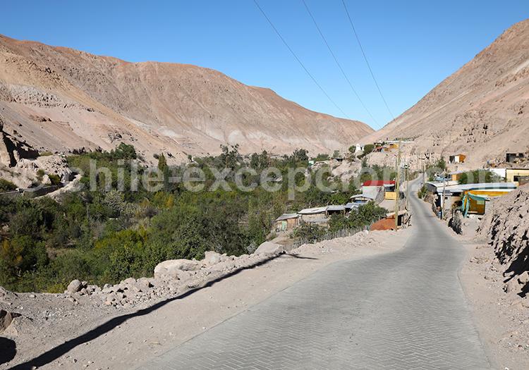 Codpa, Nord du Chili