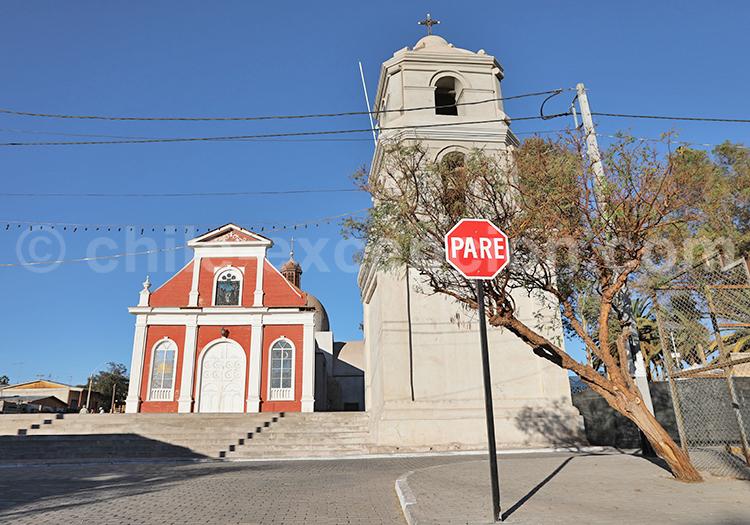 Découvrir l'église de Pica, Nord du Chili