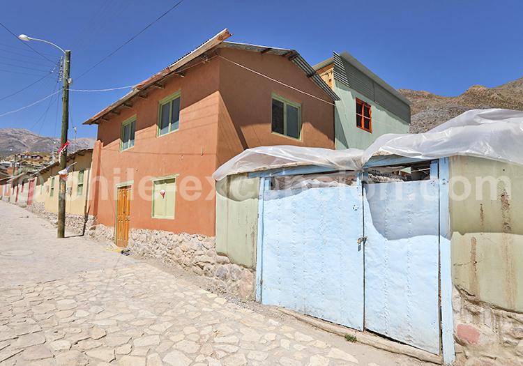 Maisons des Andes, Nord du Chili