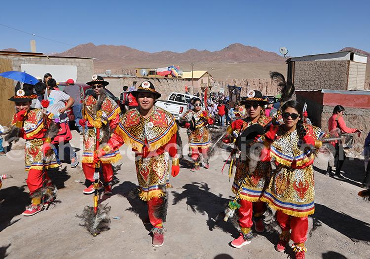 Fiesta de la Virgen de Guadalupe, désert du Chili