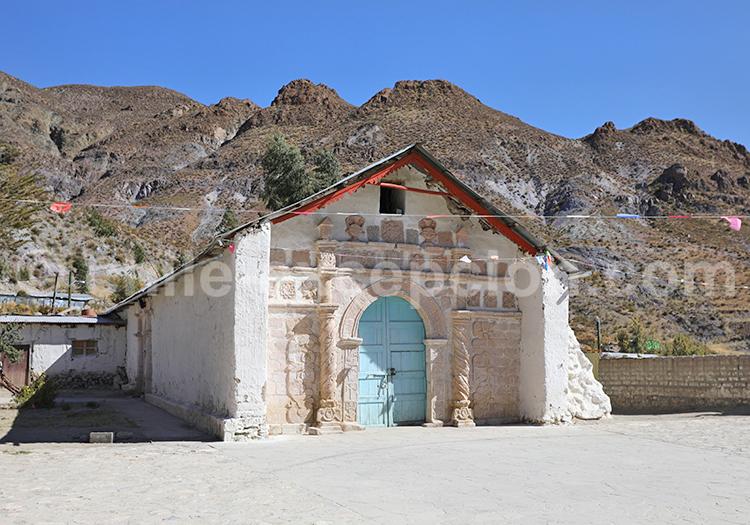 Église de San Santiago de Belén, Nord du Chili