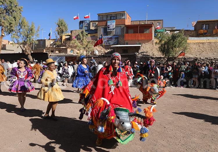 Folklore, Fiesta de la Virgen de Guadalupe, Ayquina