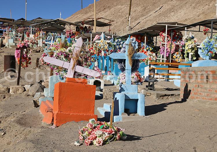 Cimetière de l'altiplano chilien