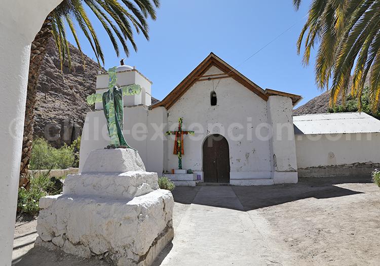 Chapelle de de l'Altiplano, route Codpa à Putre