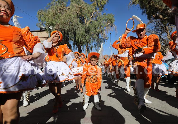 Célébration Fiesta de la Virgen de Guadalupe, Nord du Chili