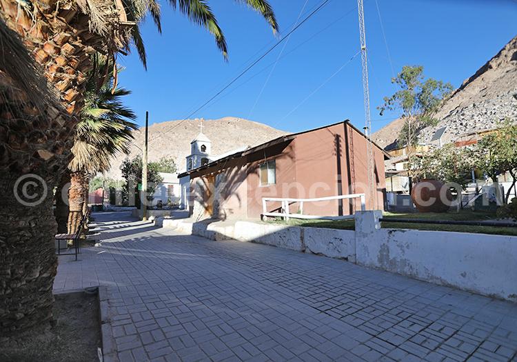 Église du village de Codpa, Nord du Chili