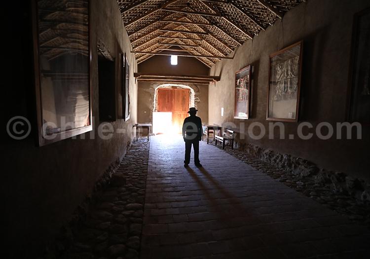 Visite de l'église de Belén, Nord du Chili