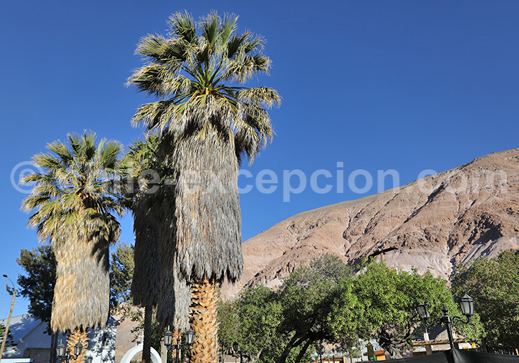 Village des Andes, Chili