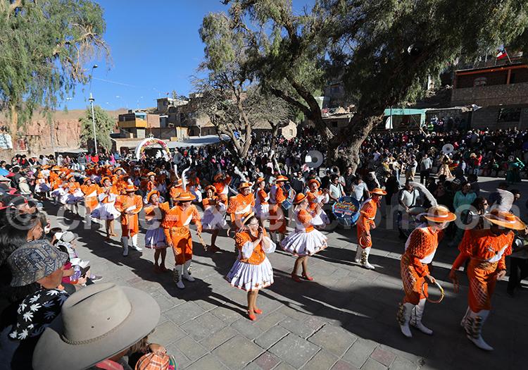 Défilé, Fiesta de la Virgen de Guadalupe, Ayquina