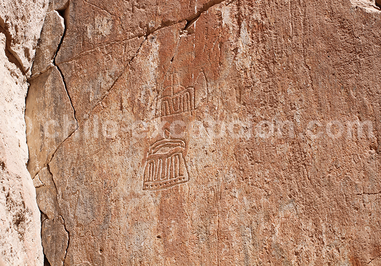Archéologie, peintures rupestres de Chillayza